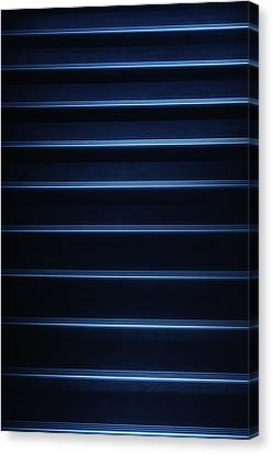 Tron Blue Canvas Print by Russ Dixon