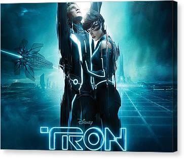 Tron Legacy 2010 Movie Canvas Print