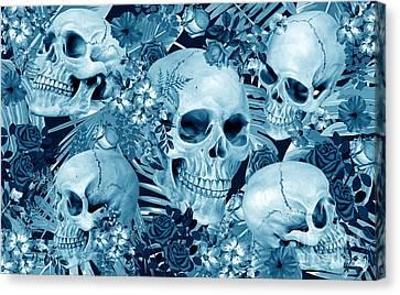 Tropic Halloween Canvas Print by Mark Ashkenazi