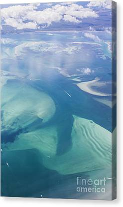 Tropical Blue Ocean Aerial Landscape Canvas Print by Jorgo Photography - Wall Art Gallery