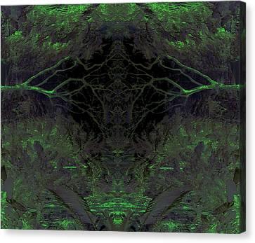 Tropical Bower Canvas Print