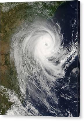 Tropical Cyclone Favio Over Mozambique Canvas Print