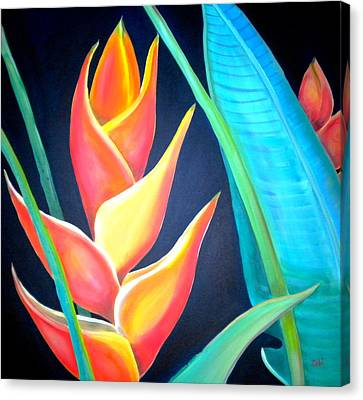 Debi Pople Canvas Print - Tropical by Debi Starr