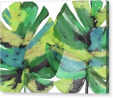Trees Canvas Print - Tropical Dreams 1- Art By Linda Woods by Linda Woods