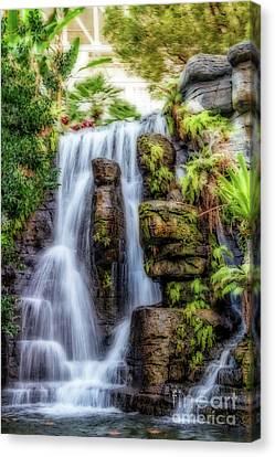 Tropical Falls Canvas Print
