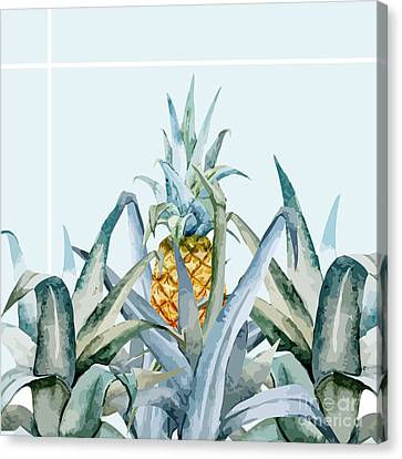 Shower Canvas Print - Tropical Feeling  by Mark Ashkenazi