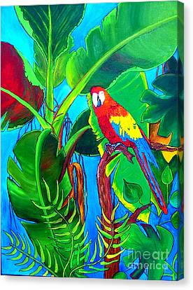 Lif Canvas Print - Tropical Flame by Inna Montano