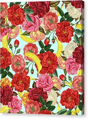 Tropical Forest Canvas Print by Uma Gokhale