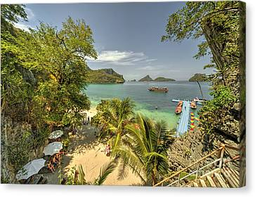 Angthong Canvas Print - Tropical Harbour by Rob Hawkins