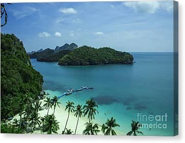Angthong Canvas Print - Tropical Island Breeze  by Rob Hawkins
