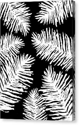 Tropical Night Canvas Print by Studio Sananikone
