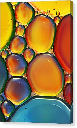 Color Canvas Print - Tropical Oil And Water II by Sharon Johnstone
