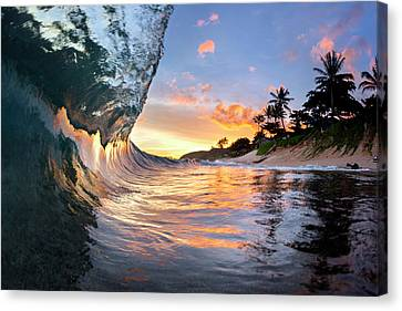 Under The Ocean Canvas Print - Tropical Smoothie. by Sean Davey