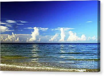 Canvas Print featuring the photograph Tropical Storm Brewing by Gary Wonning