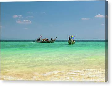 Tropical Transport Canvas Print by Adrian Evans