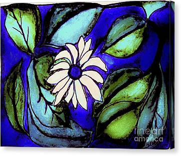 Tropical Tree Canvas Print by Marsha Heiken