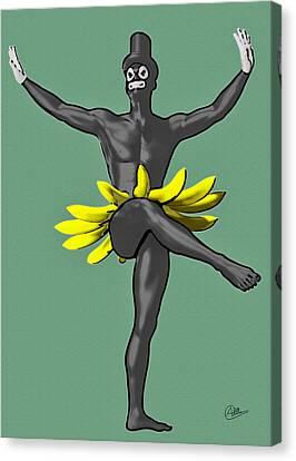 Tropicana Boy Canvas Print by Quim Abella