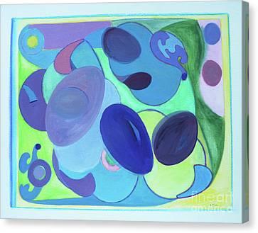 Tropicana Canvas Print by Elena Fattakova