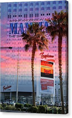 Tropicana Las Vegas Canvas Print