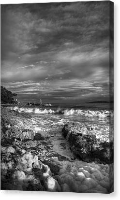 Trouble Water Canvas Print by Yannick Faure