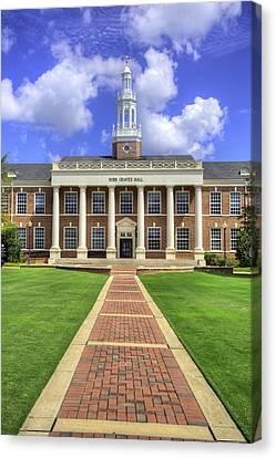 Troy University Alabama Canvas Print by JC Findley