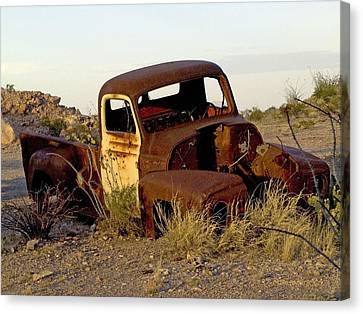 Truck Canvas Print by Kerry Beverly