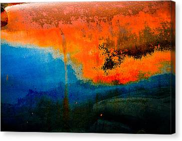 Truck Rust Canvas Print