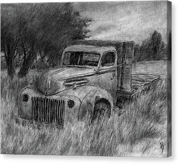 Truck Study I Canvas Print by David King