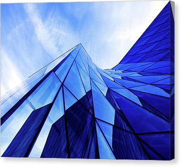 True Blue Canvas Print by Stefan Nielsen
