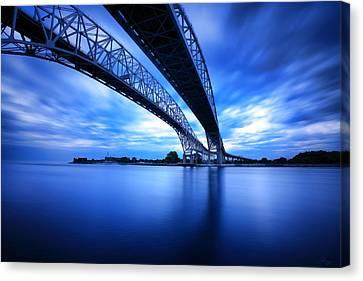 True Blue View Canvas Print by Gordon Dean II