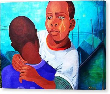 True Brotherly Love Canvas Print