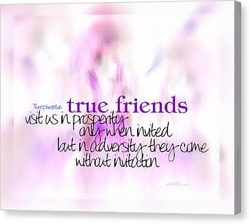 True Friends Canvas Print