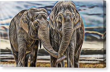 True Love Canvas Print by Marvin Blaine