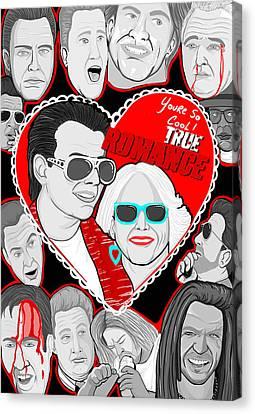 True Romance Canvas Print by Gary Niles