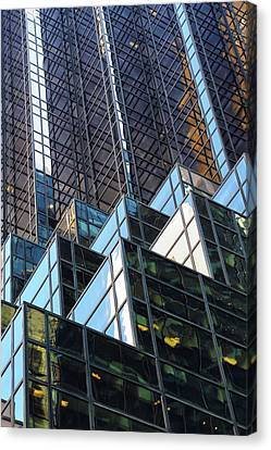 Canvas Print featuring the photograph Trump Tower by Mitch Cat