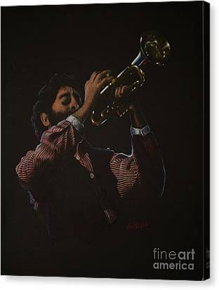 Trumpeteer Canvas Print