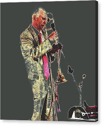 Trumpeter  Canvas Print by Yury Bashkin