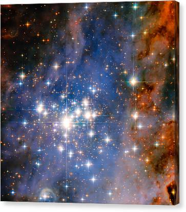 The Universe Canvas Print - Trumpler 14 Star Cluster by Jennifer Rondinelli Reilly - Fine Art Photography