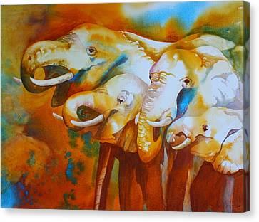 Trunk Showing Canvas Print by Tara Moorman