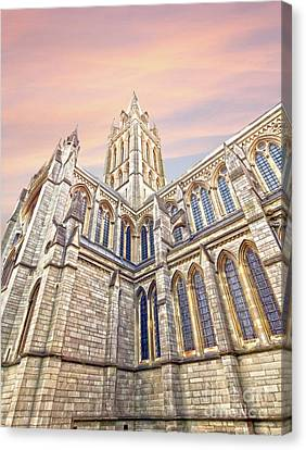 Truro Cathedral Canvas Print by Terri Waters