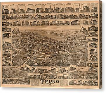 Truro Nova Scotia 1889 Canvas Print by Mountain Dreams