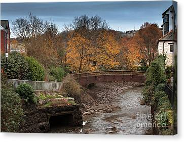 Canvas Print featuring the photograph Truro River by Brian Roscorla