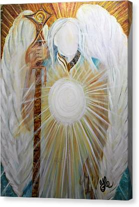 Trust - Michaelarchangel Series Canvas Print
