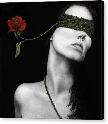 Truth Of Beauty Canvas Print by Pat Erickson