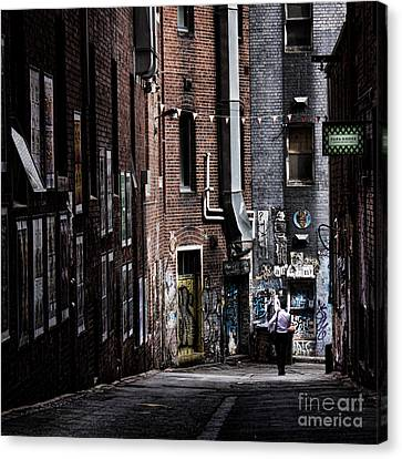 Tryst Canvas Print
