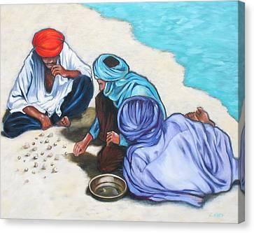 Tuaregs Canvas Print by Lorraine Klotz