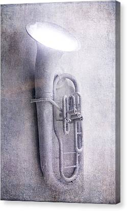Concert Images Canvas Print - Tuba Light by Garry Gay