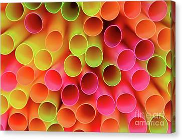 Canvas Print featuring the photograph Tubed By Kaye Menner by Kaye Menner