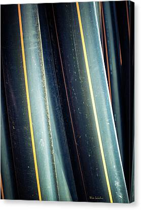 Tubes Canvas Print