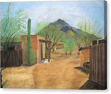 Tucson Ranch Canvas Print